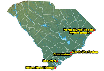South Carolina Sc Vacation Rentals By Owner South