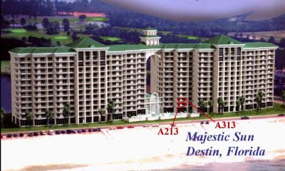 Majestic Sun A213 & A313 Condos available for rent