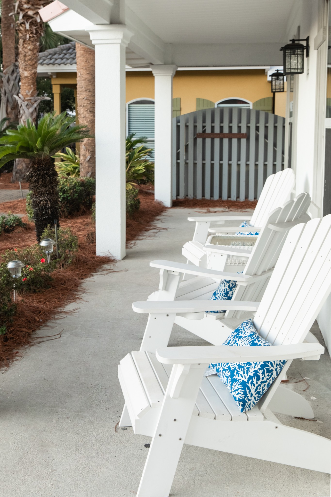 One of 4 porches this home has to offer!
