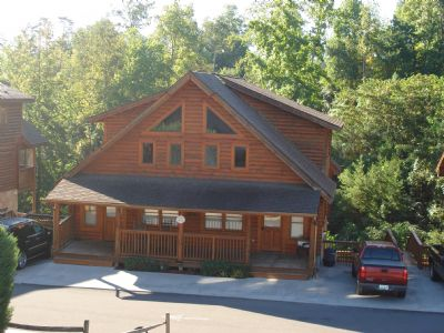 big bear cabin in pigeon forge tn