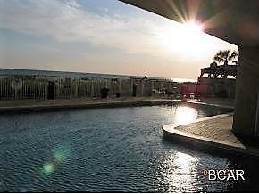 Take a swim at sunset in our heated L shaped heated pool.