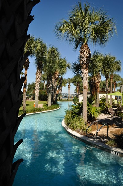 Water View Of Bay Lazy River Family Vacation Beach