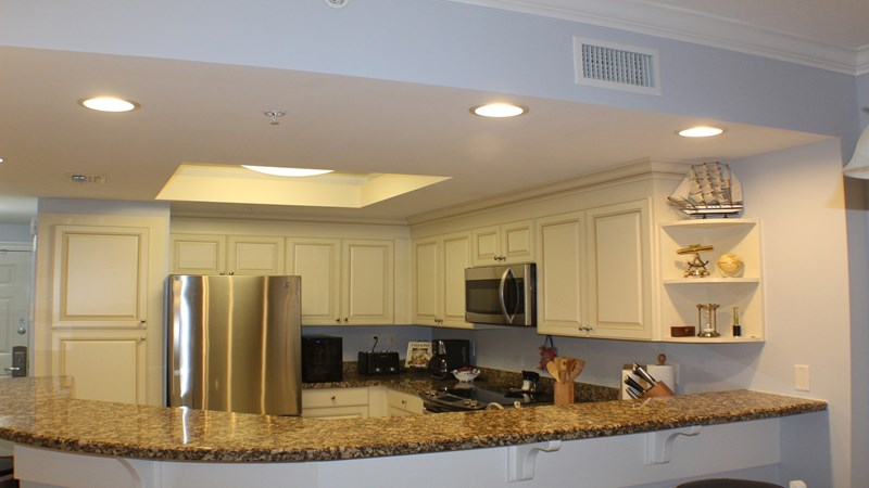 View of Freshly Renovated and Fully Equipped  Kitchen