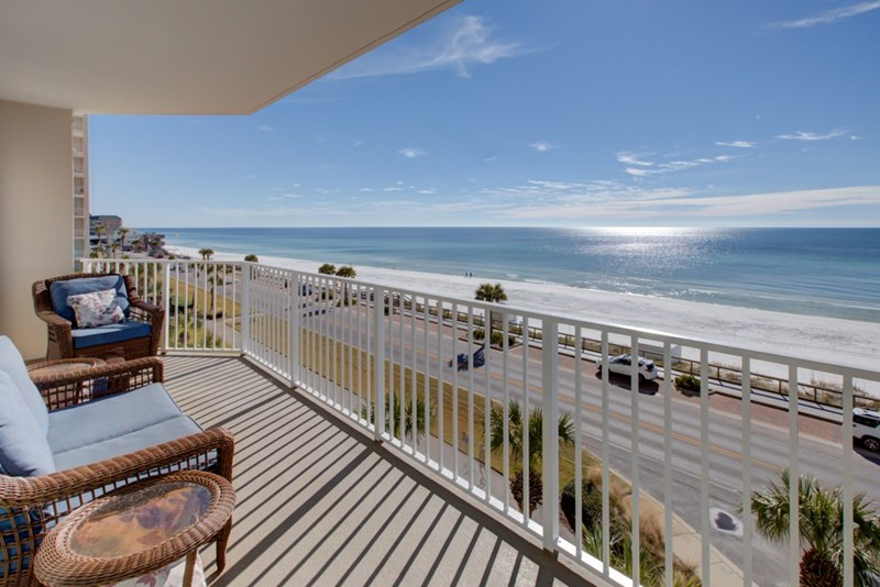 Beautiful views from your own balcony!