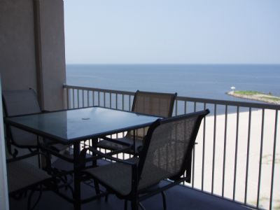 Enjoy sitting on your Balcony overlooking the Gulf