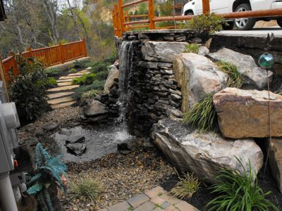 Your own private waterfall to relax you!