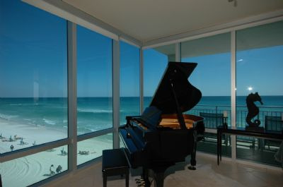 Play Chopin as you watch the waves roll in....