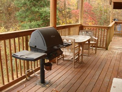 Gas Grill - Lower Level Deck