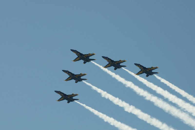 You might even see the Blue Angels fly by.