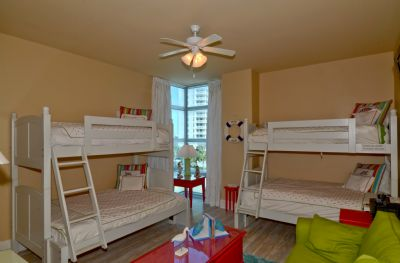 Kids love the Twin over Full Bunk Beds! Addtional Queen Sofa Sleeper