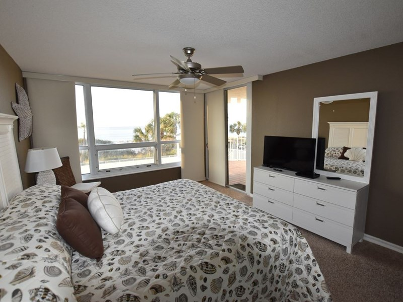 Master Bedroom with Balcony Access
