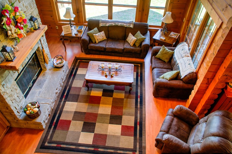 Great Room opens to Dining Room