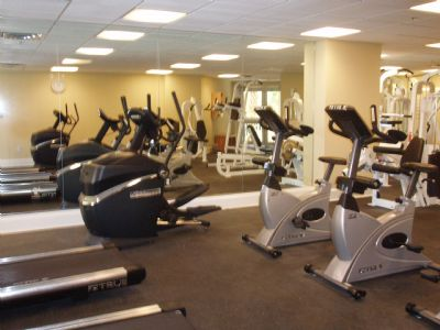 Enjoy our exercise room
