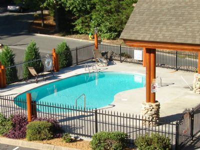 Outdoor Pool - across from Cabin
