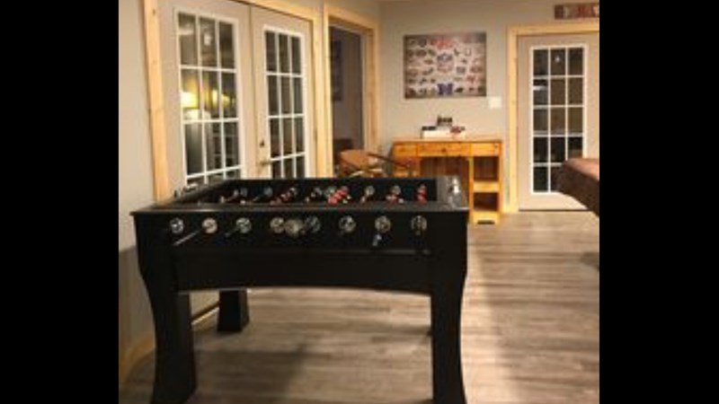 1st Floor - Foosball Table in Game Room