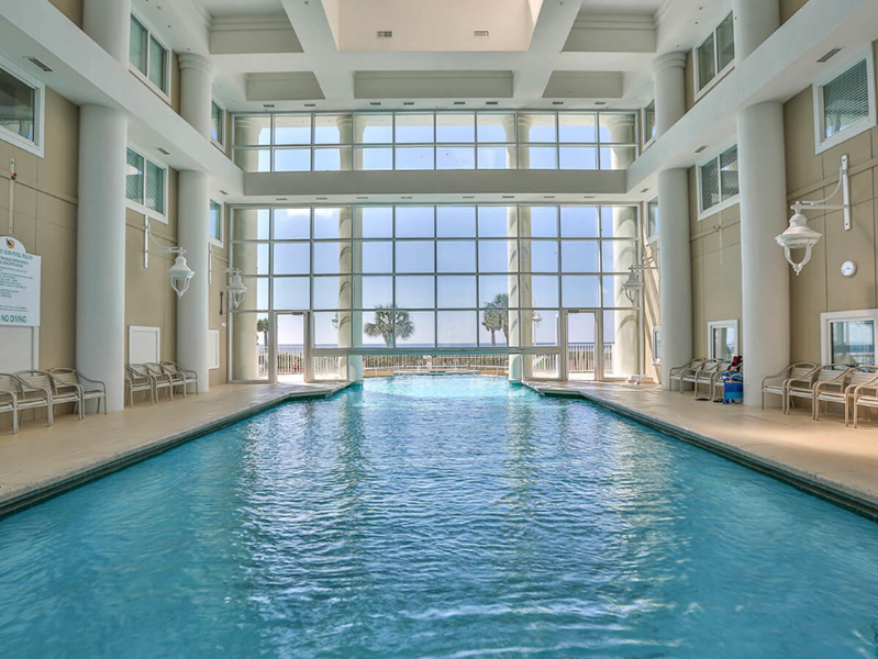 Heated indoor pool year-round