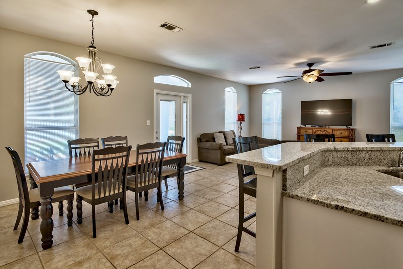 Kitchen-Destin Florida 4 Bedroom Vacation Home Rental