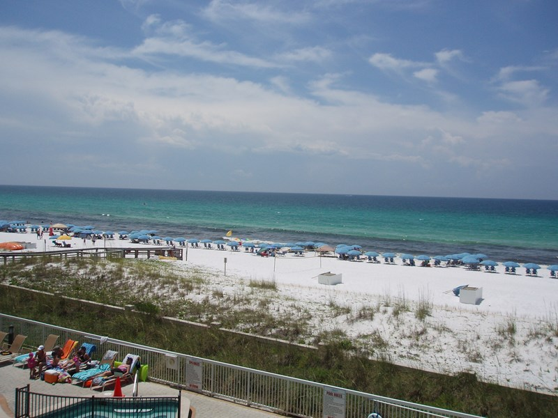 View of Gulf from our balcony