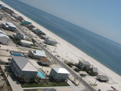 Aerial Shot!  Amazing Gulf Views!