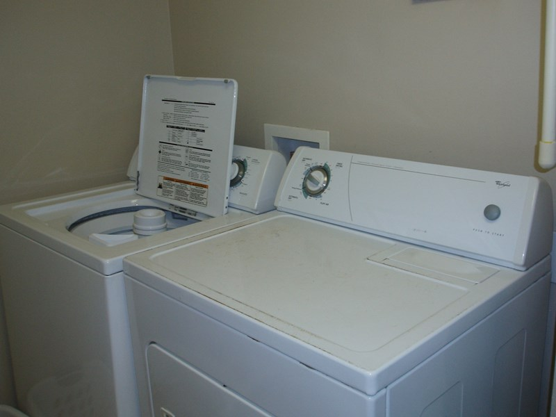 Washer/dryer - right in our condo
