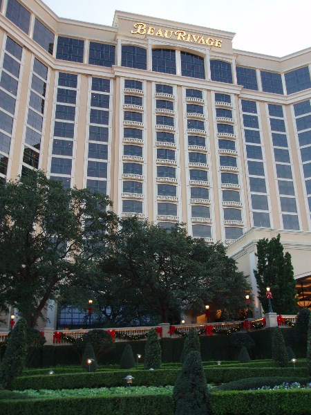Just a short drive to the Beau Rivage