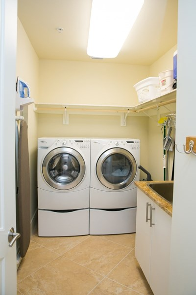 Large capacity washer and dryer to keep up with the laundry