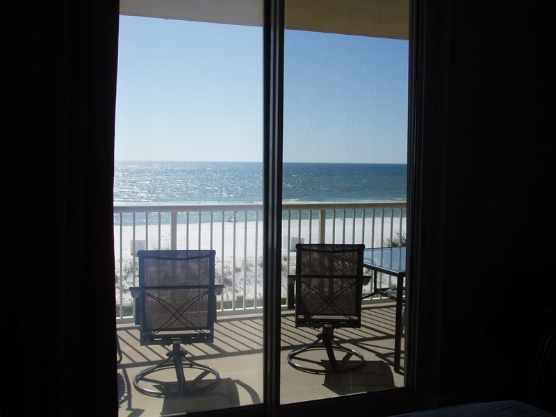 View of the Gulf from Master Bedroom