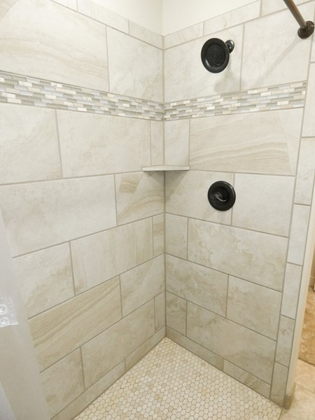 Master Main Floor Walk-In Shower