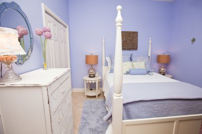 Queen bed in Second bedroom - fit for royalty!