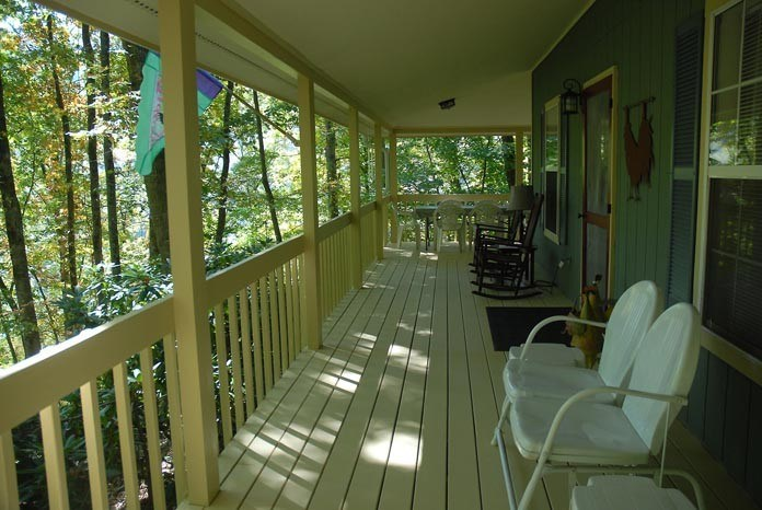 Front Wrap-Around Porch