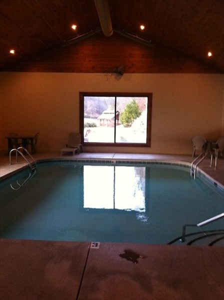 Indoor pool open year round