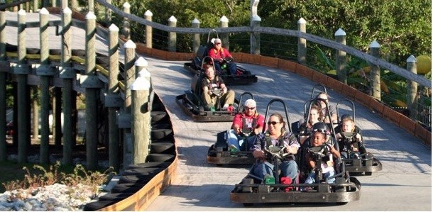 The Track...Go Carts, Mini Golf, Bumper Boats, Rides  FAMILY FUN!