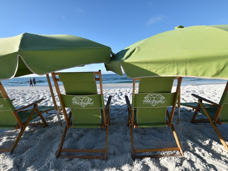 Free Beach Service Included(2chairs, 1Umbrella, 1Table)