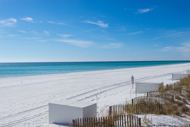 Beach set up is waiting for  you in Season at our beautiful beach access