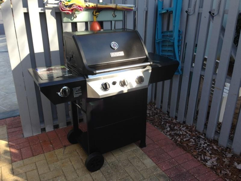 New propane grill 2015 plus charcoal grill
