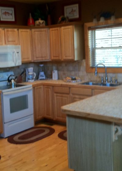 open kitchen so you sre not left out