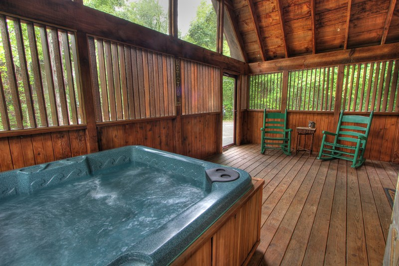 Smoky Mountain Cabin Vacation Rental The Perfect