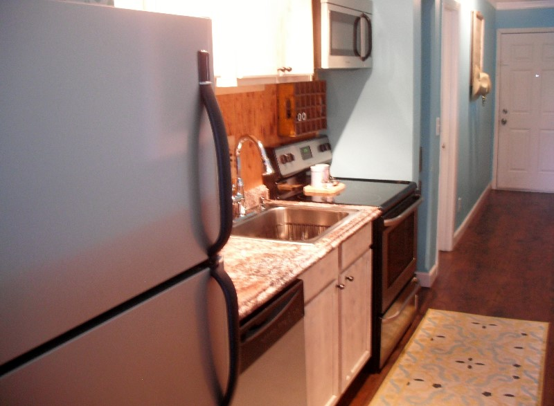 Updated Kitchen Stainless Appliances