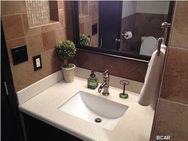 beautiful upgraded bathroom