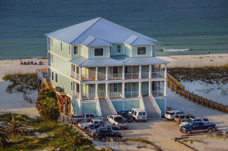 Luxury Gulf Front Home With Private Pool In Orange Beach Alabama Heated Multi Family Wedding Friendly Reunion