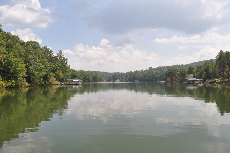 Beautiful Lake Nottely from the dock