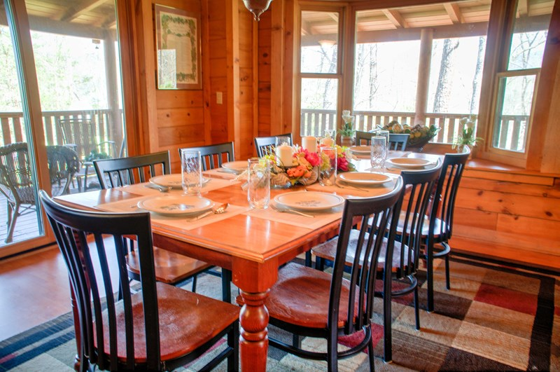 Leaving Mountain Serenity