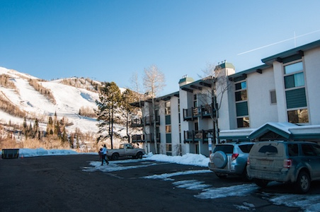 Mountain condo steamboat springs co vacation rentals by for Cabin rentals steamboat springs co