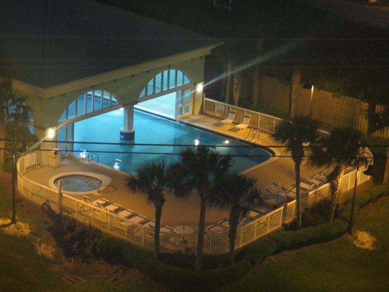 Celadon indoor/outdoor pool and hot tub