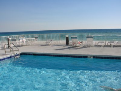 Leeward Key beach side pool.  Heated during cooler months!